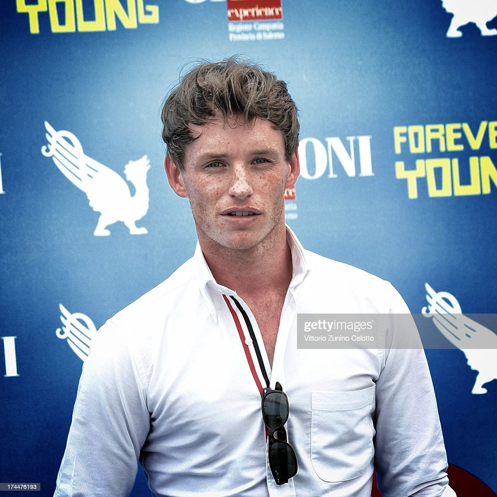 <a gi-track='captionPersonalityLinkClicked' href=/galleries/search?phrase=Eddie+Redmayne&family=editorial&specificpeople=2554844 ng-click='$event.stopPropagation()'>Eddie Redmayne</a> attends 2013 Giffoni Film Festival photocall on July 26, 2013 in Giffoni Valle Piana, Italy.