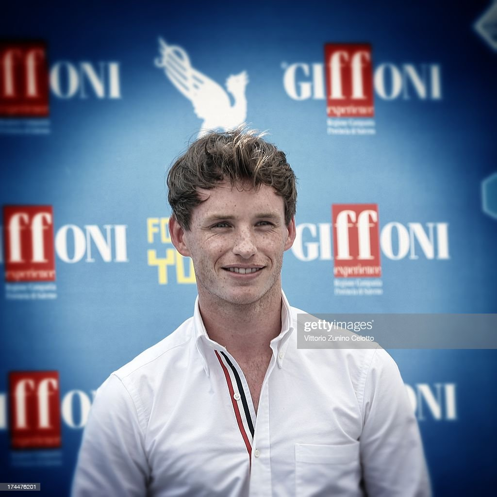 Eddie Redmayne attends 2013 Giffoni Film Festival photocall on July 26, 2013 in Giffoni Valle Piana, Italy.