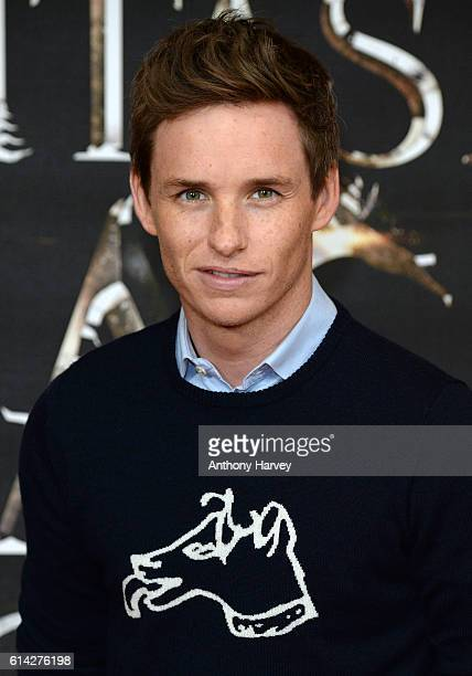 Eddie Redmayne attends a photocall for 'Fantastic Beast And Where To Find Them' at May Fair Hotel on October 13 2016 in London England