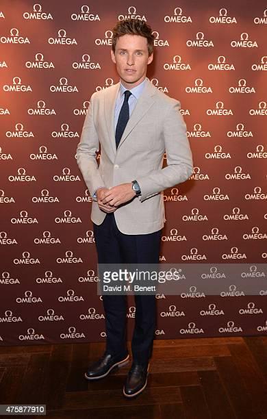 Eddie Redmayne attends a VIP dinner hosted by OMEGA President Stephen Urquhart in honour of new international OMEGA ambassador Eddie Redmayne at...