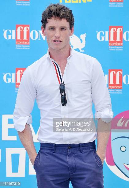 Eddie Redmayne attends the 2013 Giffoni Film Festival photocall on July 26 2013 in Giffoni Valle Piana Italy