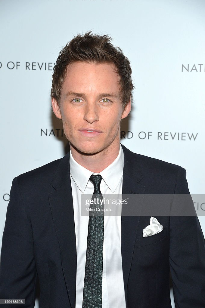 <a gi-track='captionPersonalityLinkClicked' href=/galleries/search?phrase=Eddie+Redmayne&family=editorial&specificpeople=2554844 ng-click='$event.stopPropagation()'>Eddie Redmayne</a> attends the 2013 National Board Of Review Awards at Cipriani 42nd Street on January 8, 2013 in New York City.
