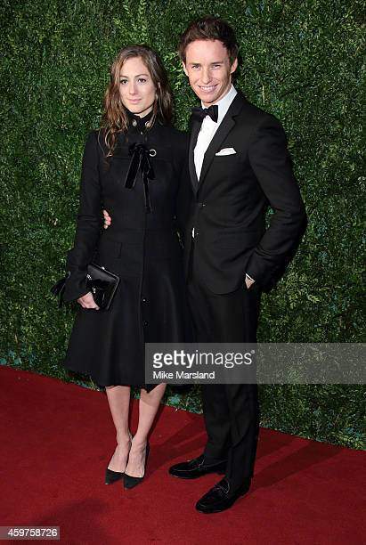 Eddie Redmayne attends the 60th London Evening Standard Theatre Awards at London Palladium on November 30 2014 in London England