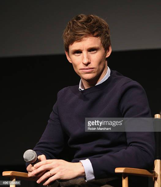 Eddie Redmayne attends The Academy Of Motion Picture Arts And Sciences Hosts An Official Academy Screening Of THE DANISH GIRL on November 7 2015 in...