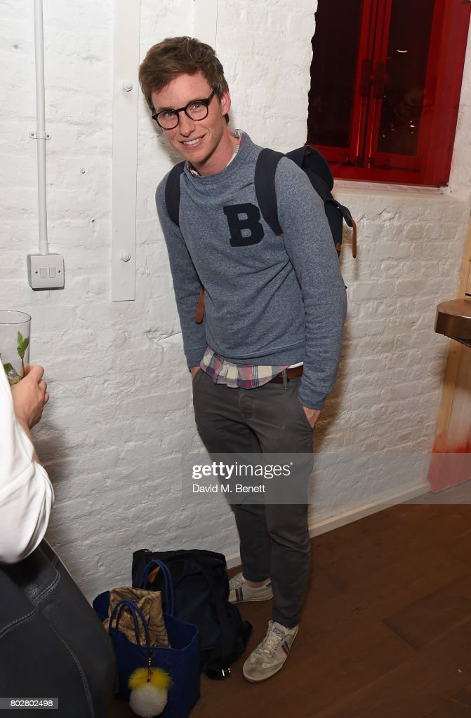 Eddie Redmayne attends The Art Of Curating Fashion with Andrew Bolton presented by Sarabande: The Lee Alexander McQueen Foundation on June 28, 2017 in London, England.