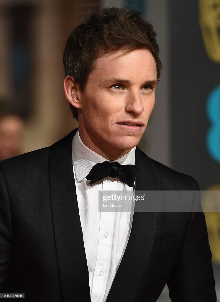 <a gi-track='captionPersonalityLinkClicked' href=/galleries/search?phrase=Eddie+Redmayne&family=editorial&specificpeople=2554844 ng-click='$event.stopPropagation()'>Eddie Redmayne</a> attends the EE British Academy Film Awards at the Royal Opera House on February 14, 2016 in London, England.