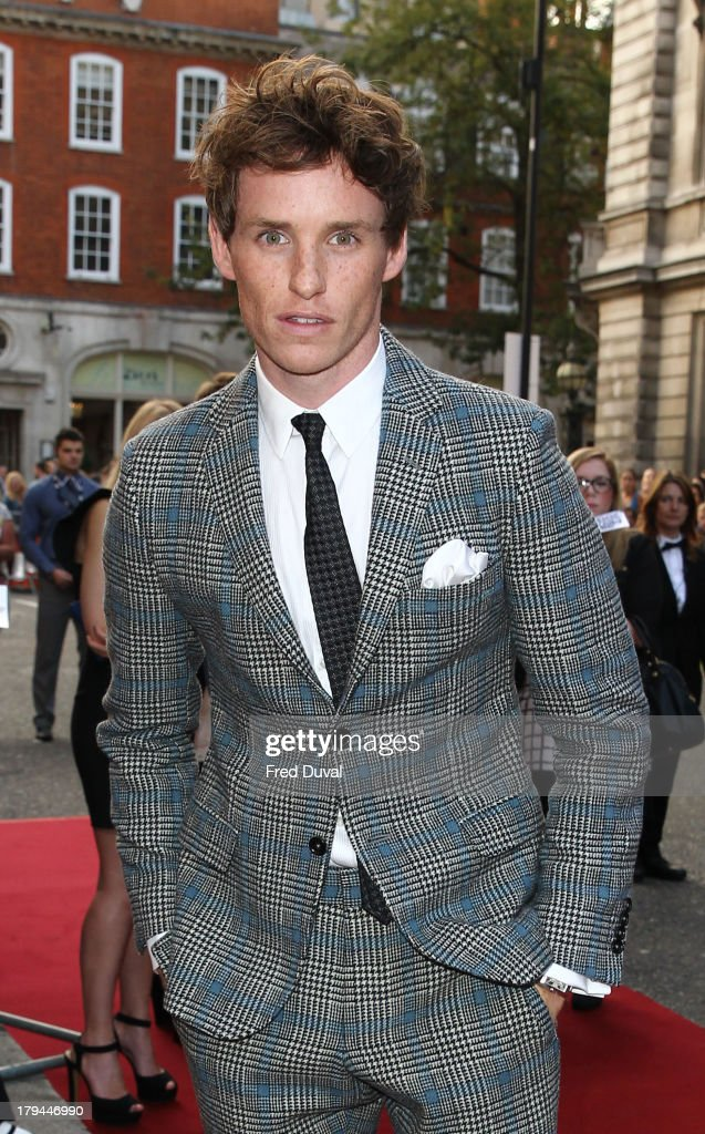 Eddie Redmayne attends the GQ Men of the Year awards at The Royal Opera House on September 3, 2013 in London, England.
