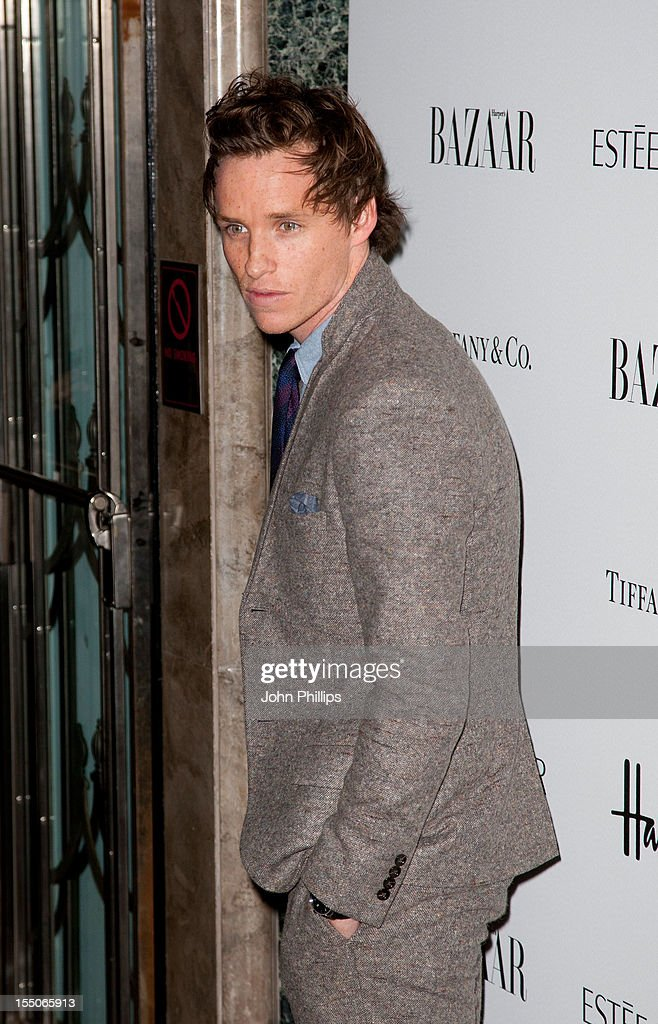 Eddie Redmayne attends the Harper's Bazaar Woman of the Year Awards at Claridge's Hotel on October 31, 2012 in London, England.