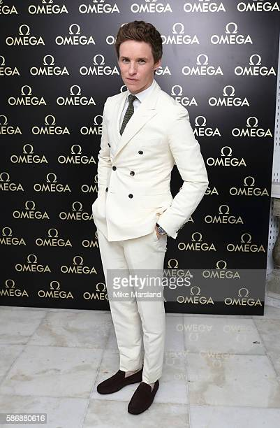 Eddie Redmayne attends the launch of OMEGA House Rio 2016 on August 6 2016 in Rio de Janeiro Brazil