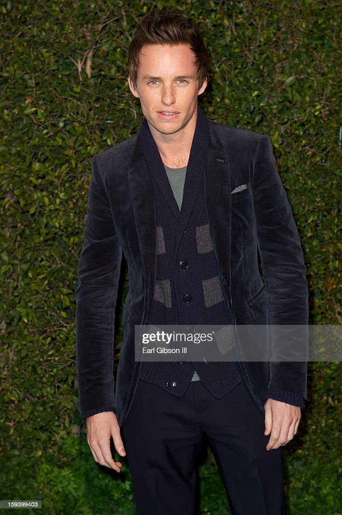 Eddie Redmayne attends the LoveGold party at Chateau Marmont on January 12, 2013 in Los Angeles, California.