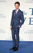 Eddie Redmayne attends the UK Premiere of 'The Theory Of Everything' at Odeon Leicester Square on December 9 2014 in London England
