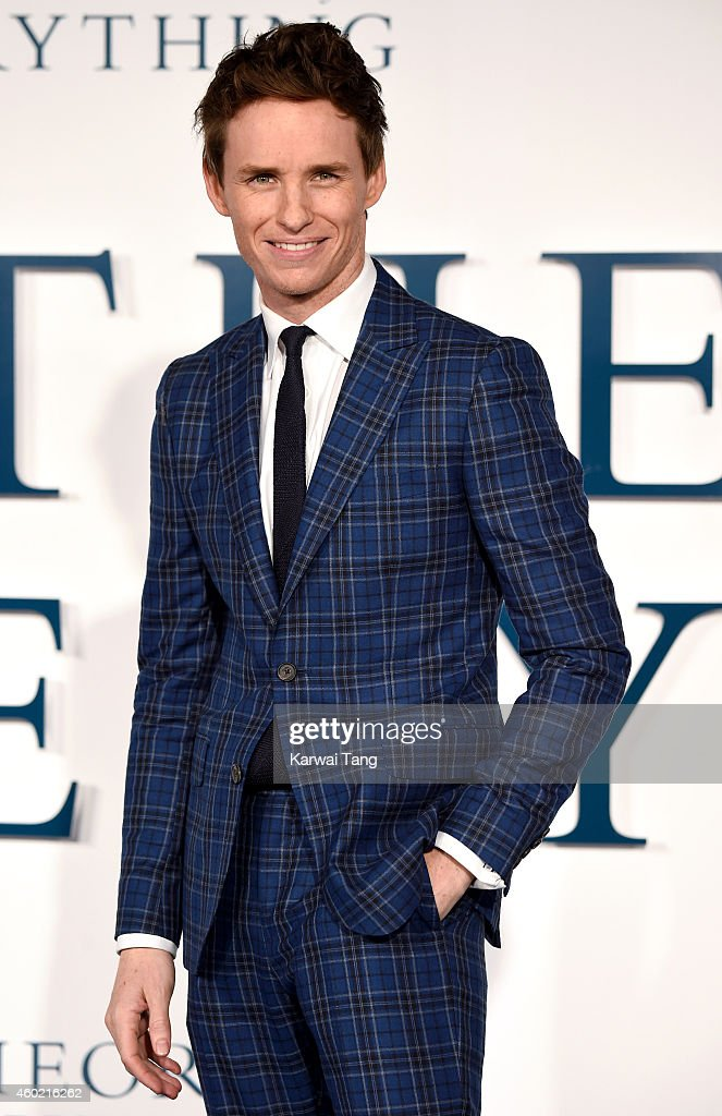 Eddie Redmayne attends the UK Premiere of 'The Theory Of Everything' at Odeon Leicester Square on December 9, 2014 in London, England.