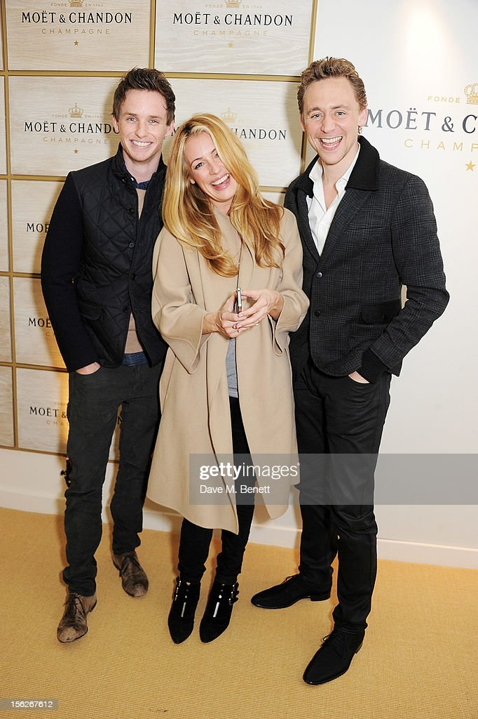 <a gi-track='captionPersonalityLinkClicked' href=/galleries/search?phrase=Eddie+Redmayne&family=editorial&specificpeople=2554844 ng-click='$event.stopPropagation()'>Eddie Redmayne</a>, <a gi-track='captionPersonalityLinkClicked' href=/galleries/search?phrase=Cat+Deeley&family=editorial&specificpeople=202554 ng-click='$event.stopPropagation()'>Cat Deeley</a> and <a gi-track='captionPersonalityLinkClicked' href=/galleries/search?phrase=Tom+Hiddleston&family=editorial&specificpeople=4686407 ng-click='$event.stopPropagation()'>Tom Hiddleston</a> attend the Moet & Chandon VIP Suite during day eight of the ATP World Finals at the O2 Arena on November 12, 2012 in London, England.