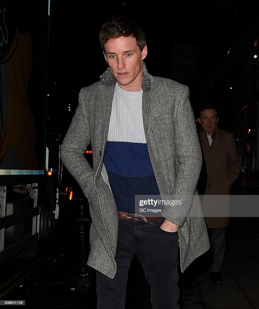 <a gi-track='captionPersonalityLinkClicked' href=/galleries/search?phrase=Eddie+Redmayne&family=editorial&specificpeople=2554844 ng-click='$event.stopPropagation()'>Eddie Redmayne</a> leaves The Ivy Garden in Chelsea on February 5, 2016 in London, England.