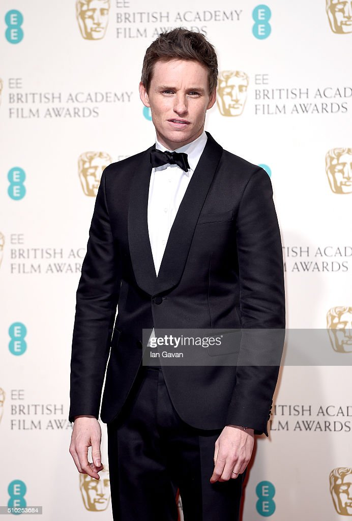 <a gi-track='captionPersonalityLinkClicked' href=/galleries/search?phrase=Eddie+Redmayne&family=editorial&specificpeople=2554844 ng-click='$event.stopPropagation()'>Eddie Redmayne</a> poses in the winners room at the EE British Academy Film Awards at the Royal Opera House on February 14, 2016 in London, England.