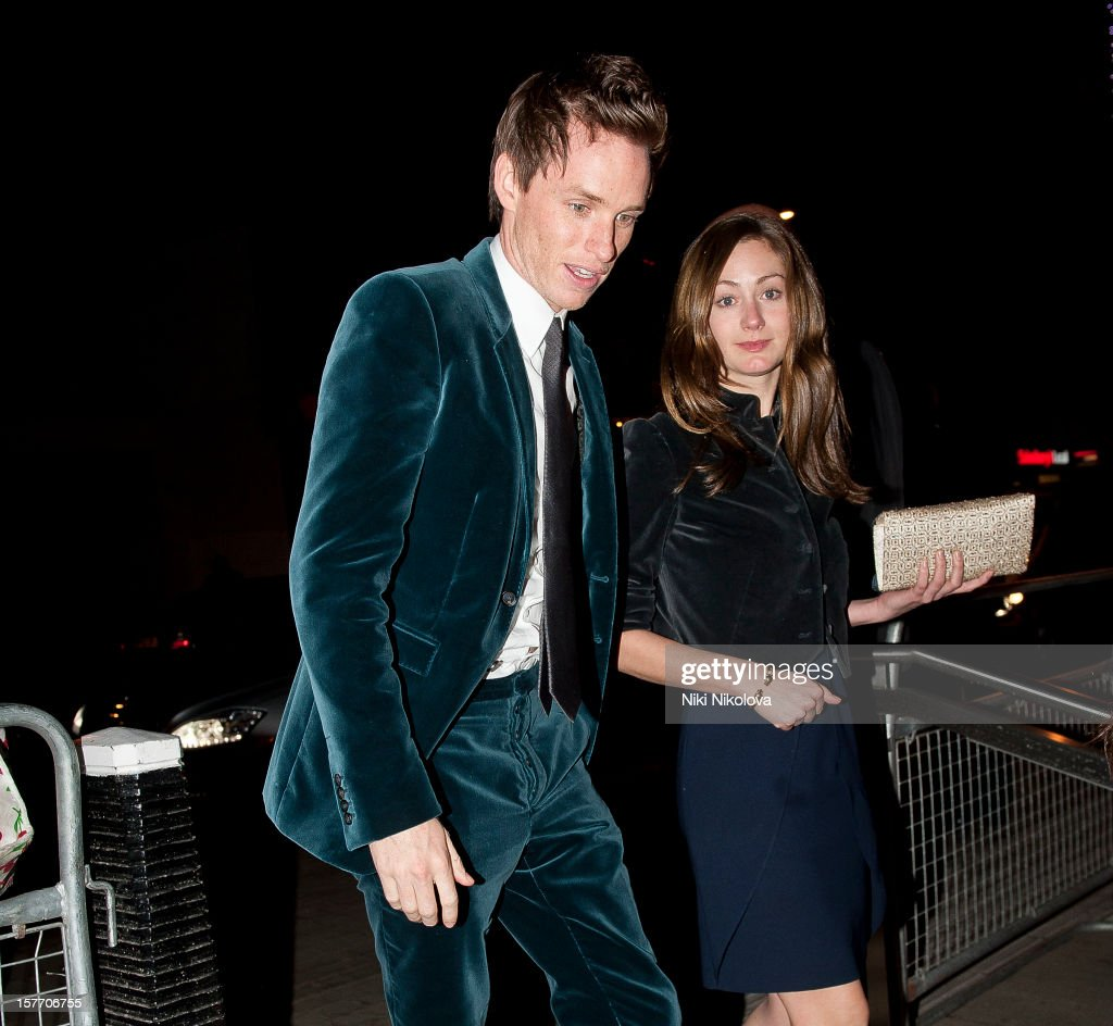 Eddie Redmayne sighting on December 5, 2012 in London, England.
