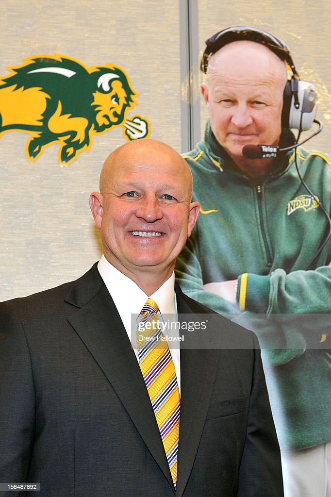 Eddie Robinson Award winner Craig Bohl of North Dakota State University poses for a photograph during the Sports Network's 26th Annual FCS Awards Presentation at the Sheraton Society Hill on December 17, 2012 in Philadelphia, Pennsylvania.