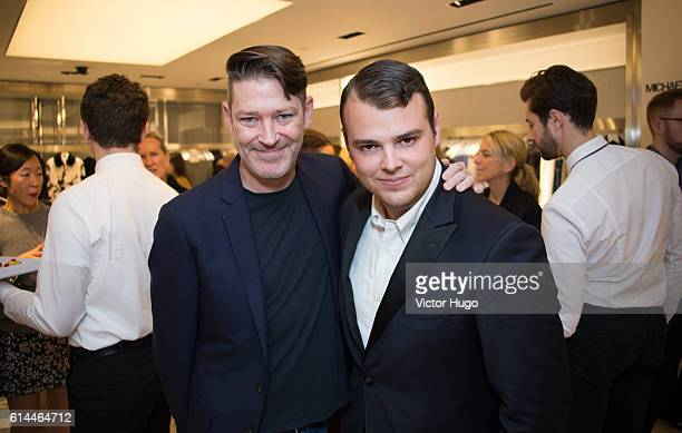 Eddie Roche and Zachary Weiss Celebrates 35th Anniversary at Bergdorf Goodman and the Release of 'Slim Aarons Women' by Getty Images and Abrams at...
