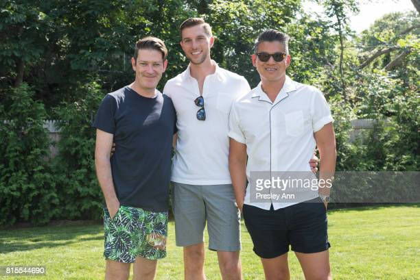 Eddie Roche attends The Daily Summer's 3rd annual Boys of Summer Party on July 15 2017 in Sag Harbor New York