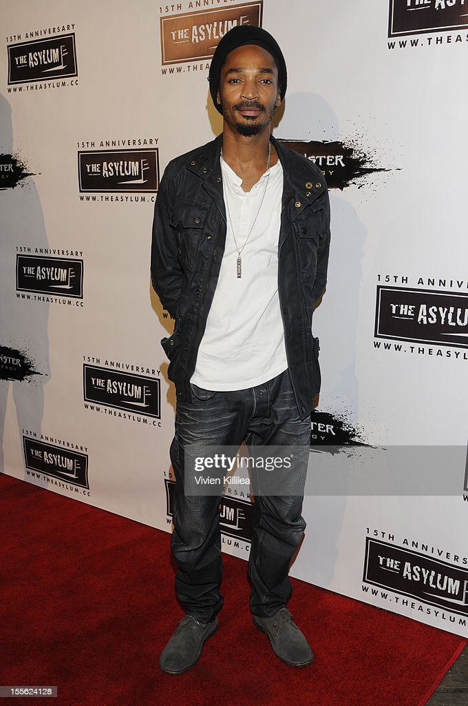 Eddie Steeples attends The Asylum's 15th Anniversary at Pacific Park - Santa Monica Pier on November 5, 2012 in Santa Monica, California.