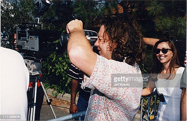 Eddie Vedder during 1993 MTV Video Music Awards in Los Angeles California United States
