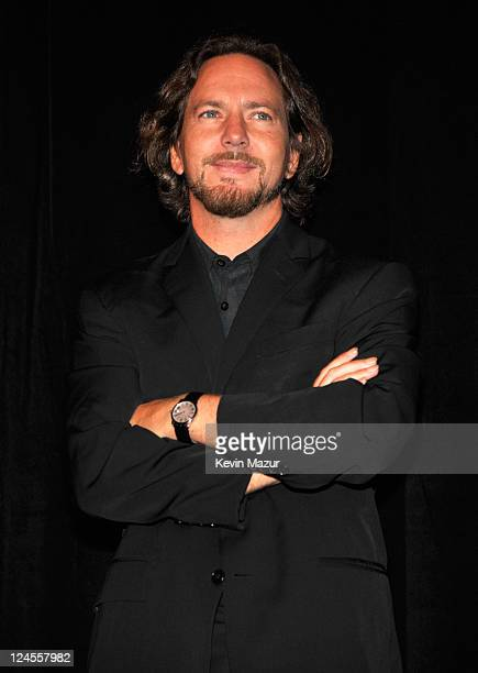 Eddie Vedder of Peal Jam attends the 'Pearl Jam Twenty' premiere at the Princess of Wales Theatre during the 2011 Toronto International Film Festival...