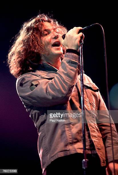 Eddie Vedder of Pearl Jam on 3/2/94 in Chicago Il