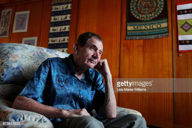 Eddie Whitham founder of Multicultural Tamworth at his home on January 30 2017 in Tamworth Australia Tamworth is a large regional city in the New...