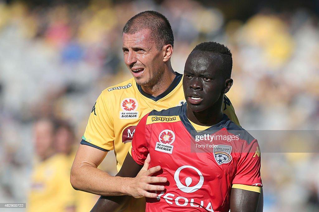 A-League Rd 16 - Central Coast v Adelaide