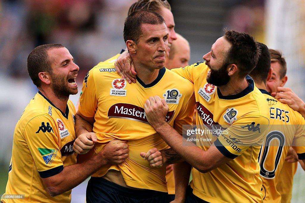 A-League Rd 13 - Central Coast v Brisbane