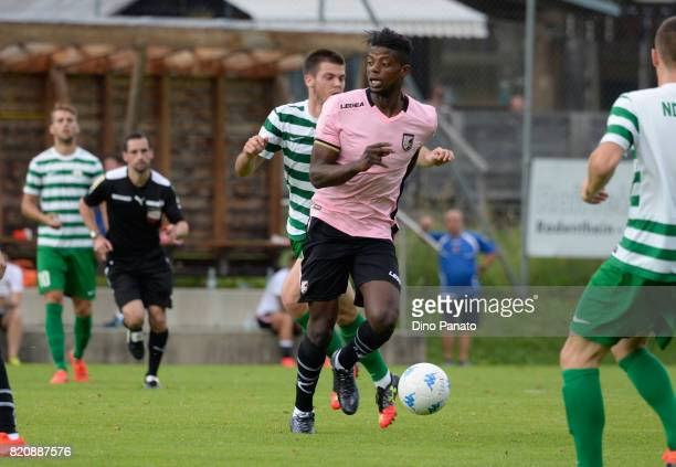 Eddy Gnahore of US Citta di Palermo in action during the PreSeason Friendly match bewteen US Citta di Palermo and ND Ilirija at Sport Arena on July...