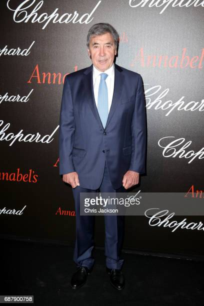 Eddy Merckx attends the Annabel's Chopard Party during the 70th annual Cannes Film Festival at Martinez Hotel on May 24 2017 in Cannes France