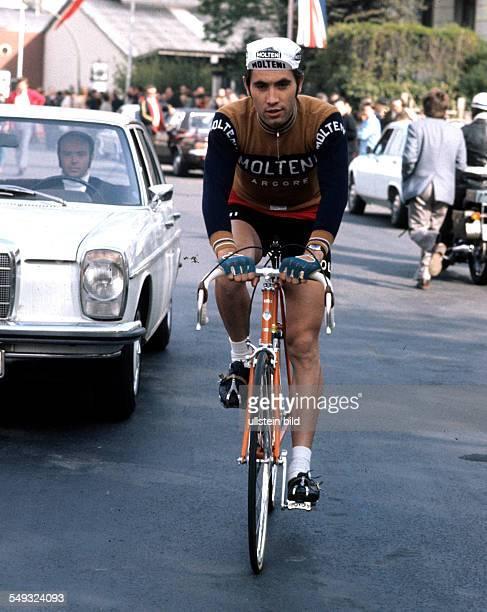 Eddy Merckx bei der Tour de France 1971 Aktion