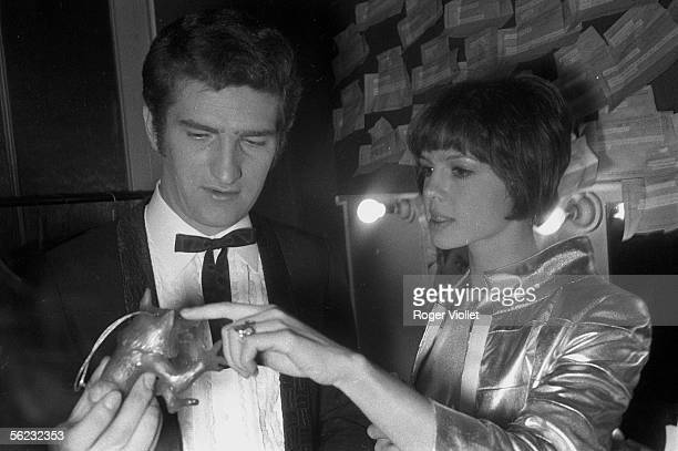 Eddy Mitchell and Haydee Politoff at the Olympia Paris HA1570