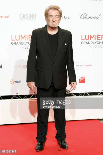 Eddy Mitchell attends opening ceremony of 9th Film Festival Lumiere In Lyon on October 14 2017 in Lyon France