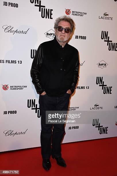 Eddy Mitchell attends The 'Un Une' Paris Premiere At Cinema UGC Normandie on November 23 2015 in Paris France
