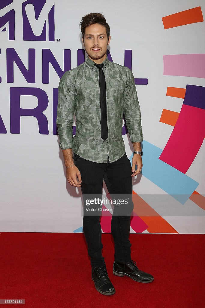 Eddy Vilard attends the MTV Millennial Awards 2013 at Foro Corona on July 16, 2013 in Mexico City, Mexico.
