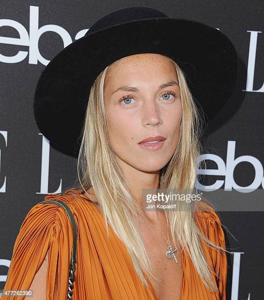 Edei arrives at the 6th Annual ELLE Women In Music Celebration Presented by eBay at Boulevard3 on May 20 2015 in Hollywood California