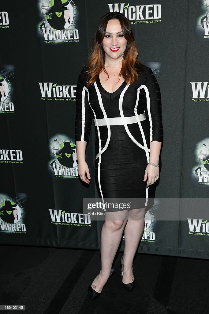 Eden Espinosa attends the after party for the 'Wicked' 10th anniversary on Broadway at The Edison Ballroom on October 30, 2013 in New York City.