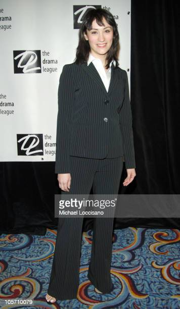 Eden Espinosa during The 71st Annual Drama League Awards Inside Arrivals at Marriott Marquis Hotel in New York City New York United States