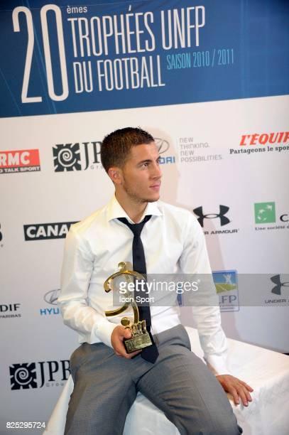 Eden HAZARD Meilleur Joueur Ligue 1 Trophee UNFP 2011