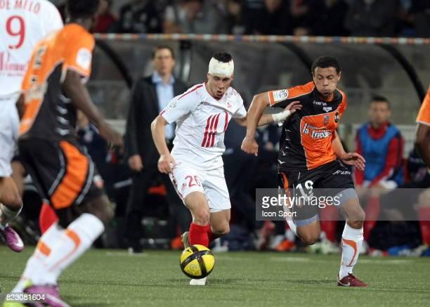 Eden HAZARD / Francis COQUELIN û Lorient / Lille 32 eme journee de Ligue 1