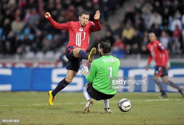 Eden HAZARD / Jody VIVIANI Lille / Grenoble Ligue 1 28eme journee Photo Dave Winter / Icon Sport