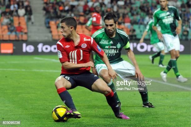 Eden HAZARD Loic PERRIN Saint Etienne / Lille 35eme journee de Ligue 1