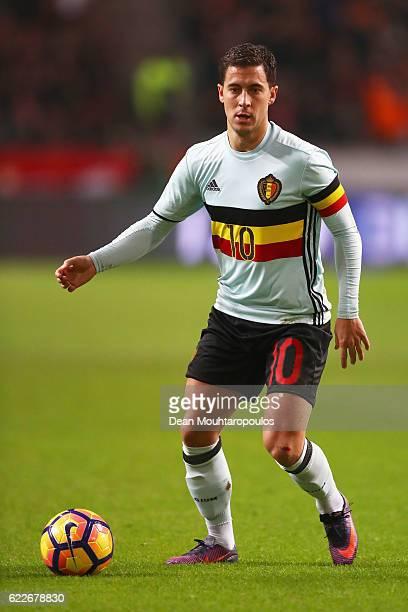 Eden Hazard of Belgium in action during the international friendly match between Netherlands and Belgium at Amsterdam Arena on November 9 2016 in...
