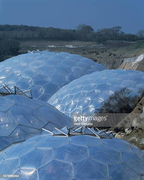 Eden Project St Austell United Kingdom Architect Grimshaw Eden Project Dome Roofs