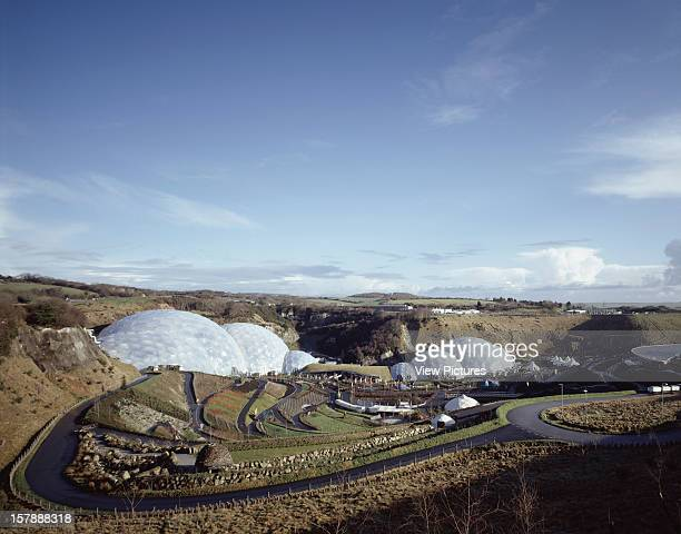 Eden Project St Austell United Kingdom Architect Grimshaw Eden Project Grand View Of Entire Project