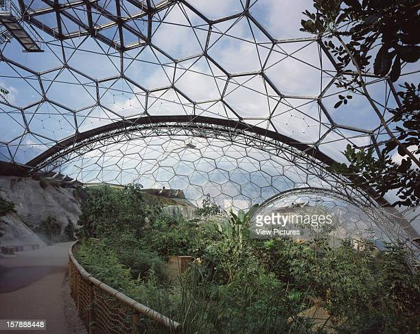 Eden Project St Austell United Kingdom Architect Grimshaw Eden Project
