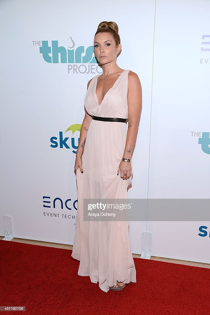 Eden Sassoon attends the 5th Annual Thirst Gala hosted by Jennifer Garner in partnership with Skyo and Relativity's 'Earth To Echo' at The Beverly Hilton Hotel on June 24, 2014 in Beverly Hills, California.