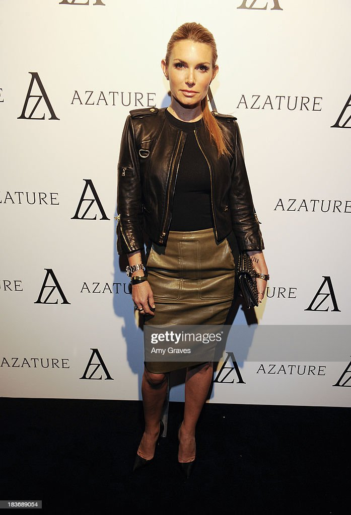 Eden Sassoon attends the Black Diamond Affair Presented by Azature at Sunset Tower on October 8, 2013 in West Hollywood, California.
